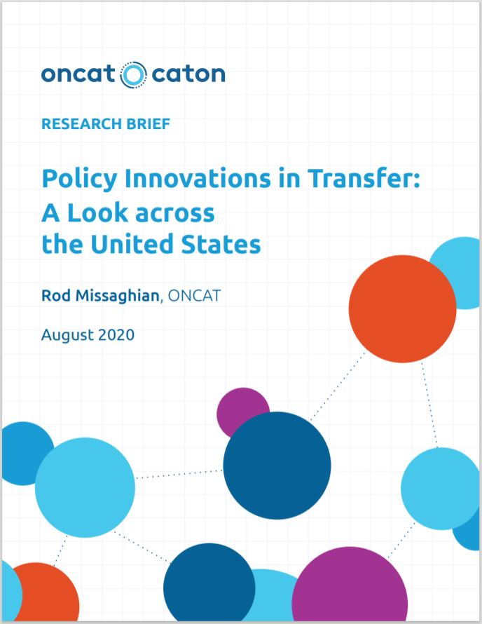 Policy Innovations in Transfer: A Look across the United States