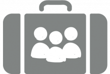 Heads of Business - Suitcase Icon